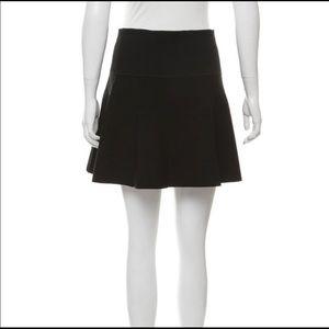 Rag & Bone Black A-Line Skirt